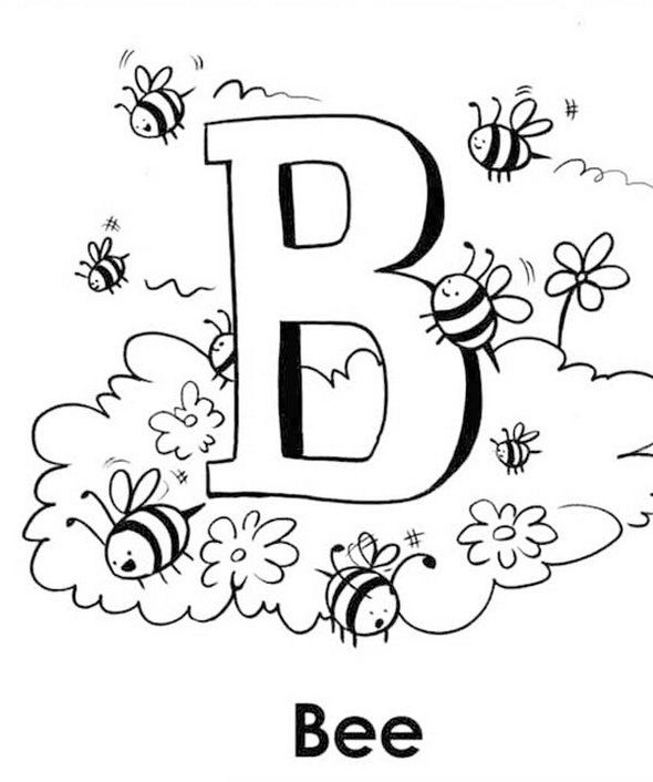 b is for bee coloring page pin by columba on kids crafts in 2020 bee coloring pages b page is bee for coloring