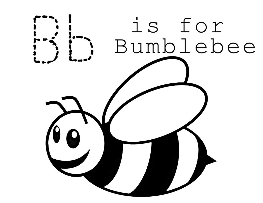 b is for bee coloring page top 10 free printable letter b coloring pages online coloring for bee is page b
