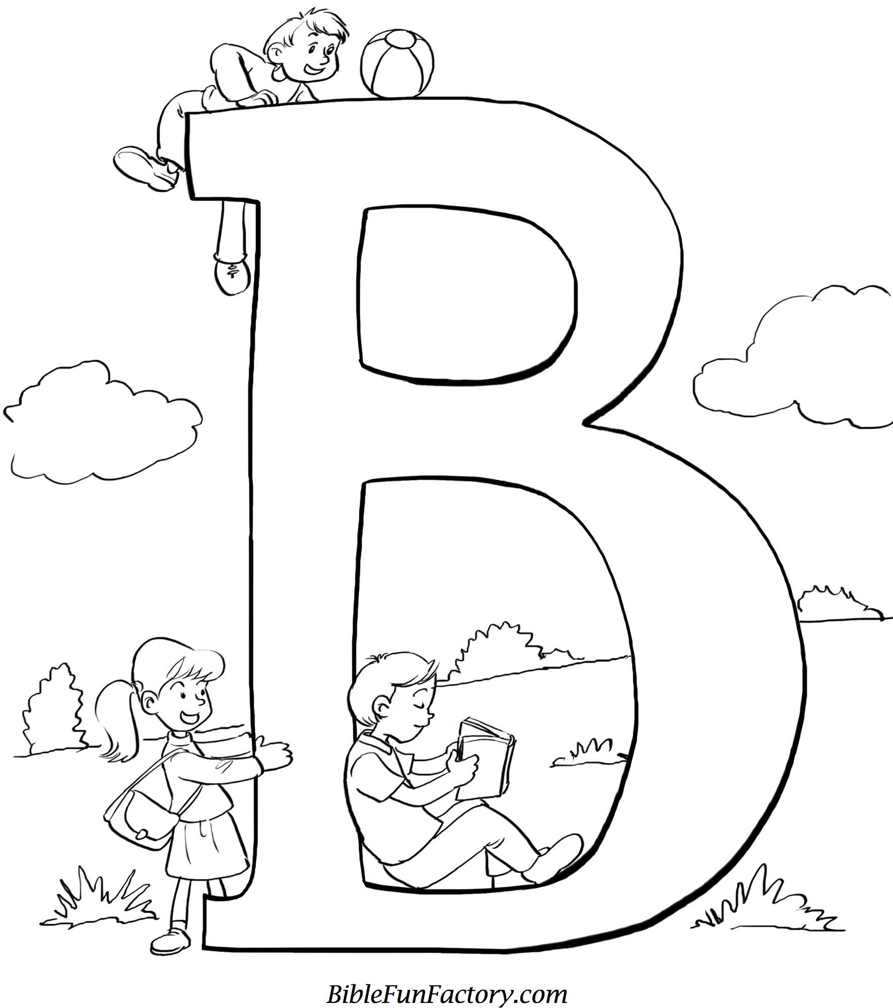 b is for bible coloring page bible alphabet b coloring page coloring is bible b page for