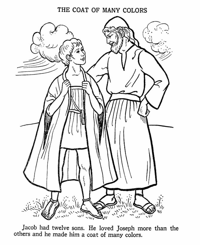 b is for bible coloring page joseph and the coat of many colors bible story coloring for is page bible coloring b