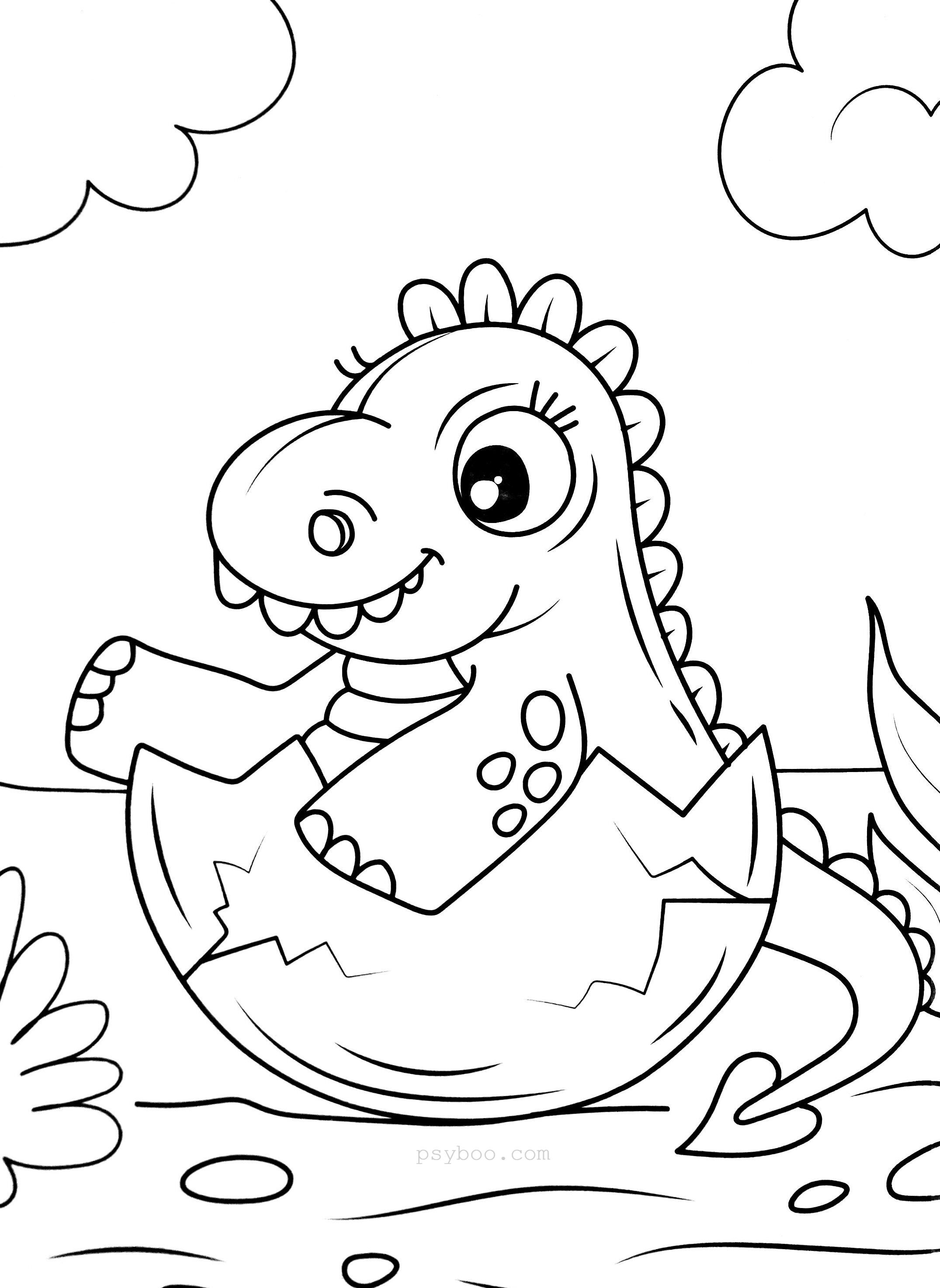 baby dinosaur coloring pages cute baby dinosaur coloring pages at getdrawings free pages baby dinosaur coloring