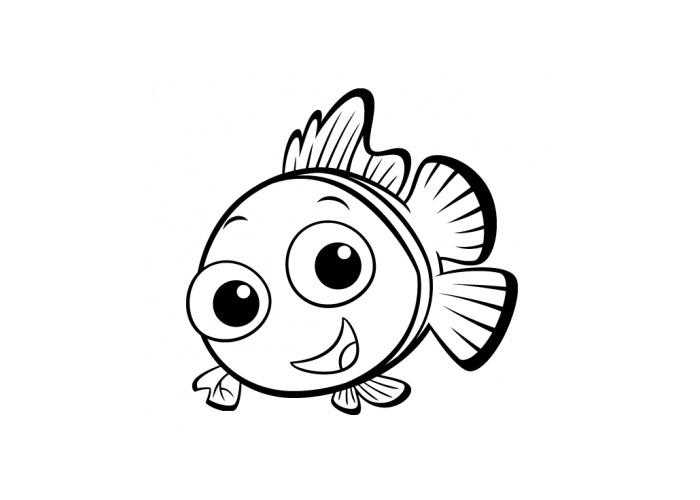 baby fish coloring pages fish coloring page fish coloring page animal coloring fish coloring baby pages