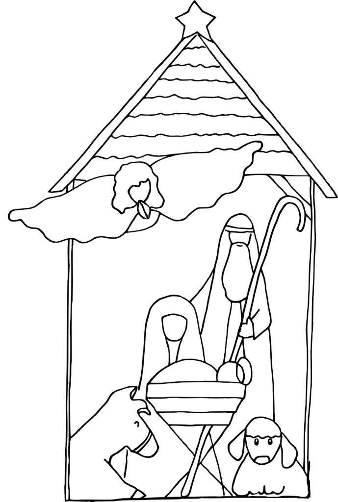 baby jesus coloring pages printable baby jesus manger coloring page coloring home coloring baby jesus pages printable