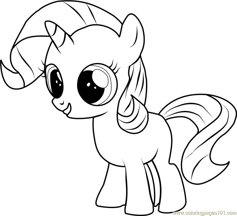 baby my little pony coloring pages filly rarity coloring page free my little pony my little pages coloring pony little baby my