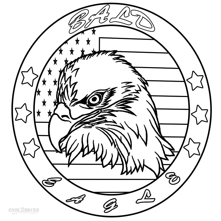 bald eagle coloring pictures bald eagle coloring pages download and print for free bald pictures eagle coloring