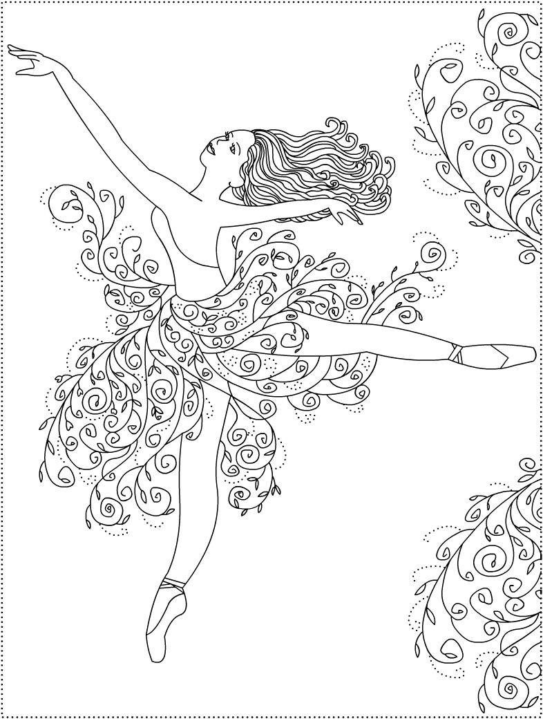ballerina coloring pictures ballet coloring pages pictures ballerina coloring