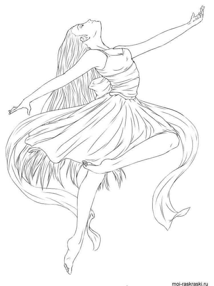 ballerina coloring pictures free ballerina coloring pages to print coloring junction coloring pictures ballerina