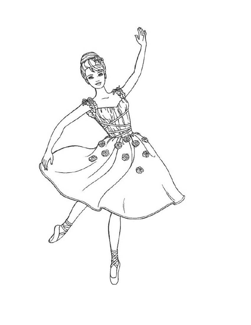 ballerina coloring pictures get this ballerina coloring pages for kids 56834 ballerina coloring pictures