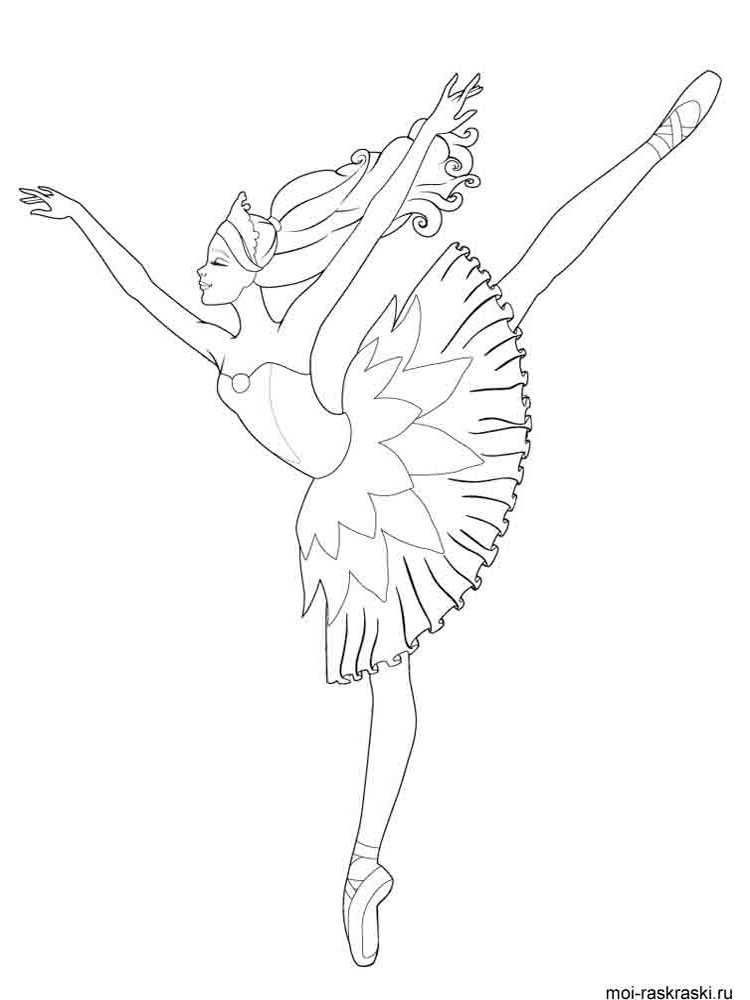 ballerina coloring pictures princess ballerina coloring pages at getcoloringscom coloring ballerina pictures