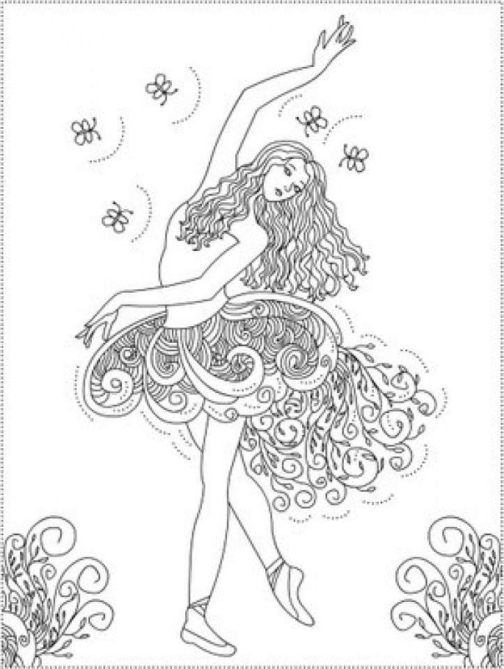 ballerina coloring pictures printable ballet coloring pages for kids cool2bkids ballerina pictures coloring