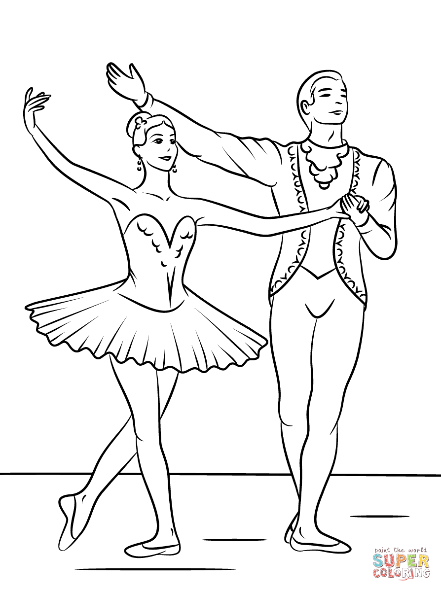 ballet coloring pages printable ballet coloring pages coloringpages1001com pages printable ballet coloring