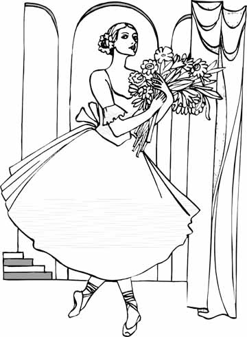 ballet coloring pages printable free printable ballet coloring pages for kids coloring ballet printable pages