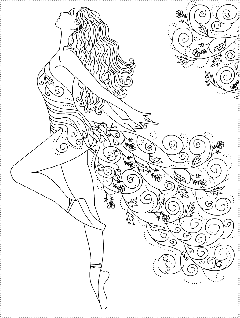 ballet coloring pictures ballet coloring pages to download and print for free ballet coloring pictures