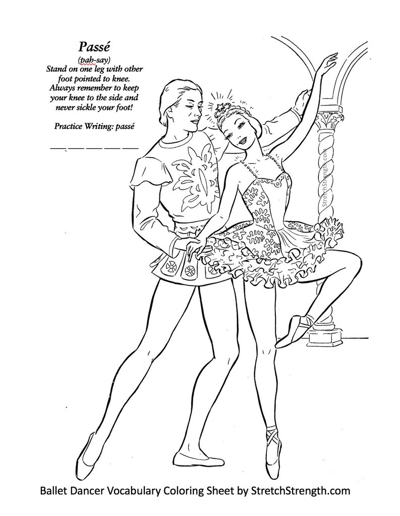ballet coloring pictures resources tips tools for ballet dancers and teachers ballet pictures coloring