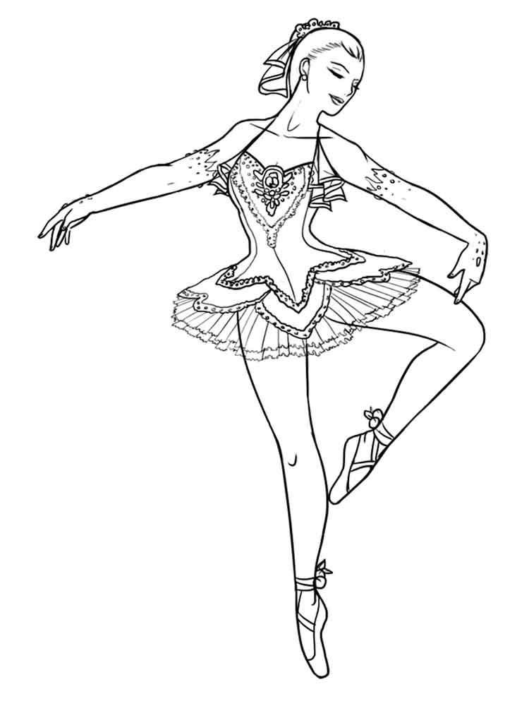 ballet pictures to colour ballerina coloring page super simple colour to pictures ballet