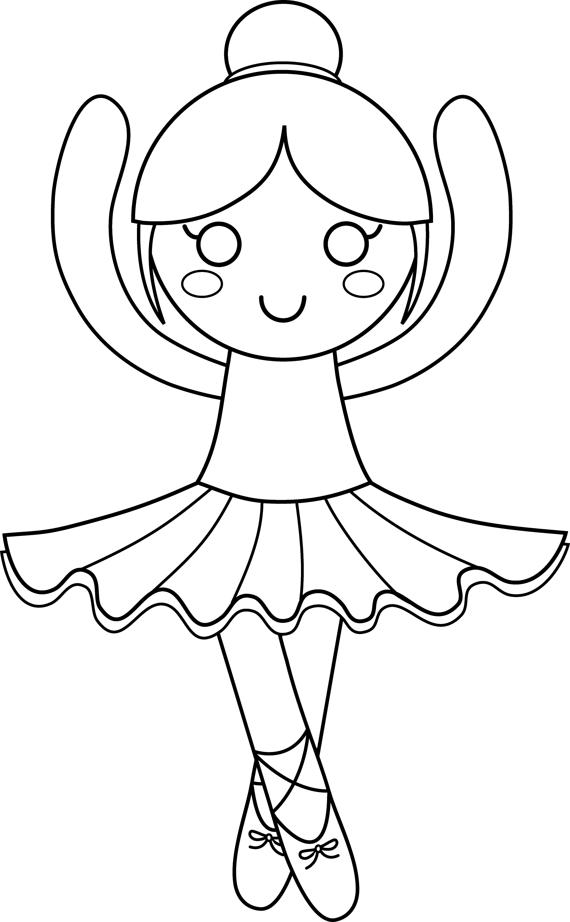 ballet pictures to colour free printable ballerina coloring pages at getdrawings to ballet pictures colour