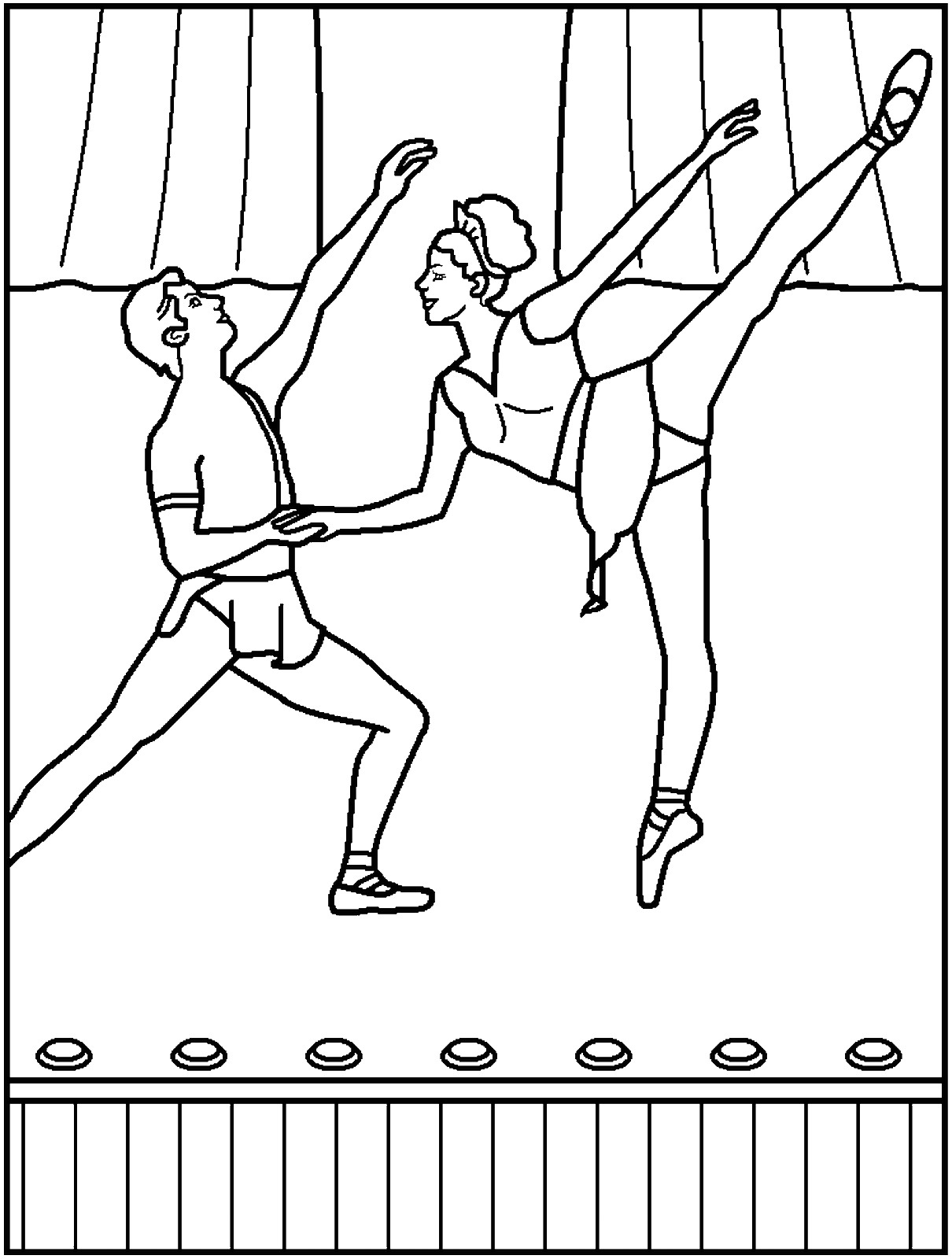 ballet pictures to colour get this free ballerina coloring pages 2srxq to colour ballet pictures