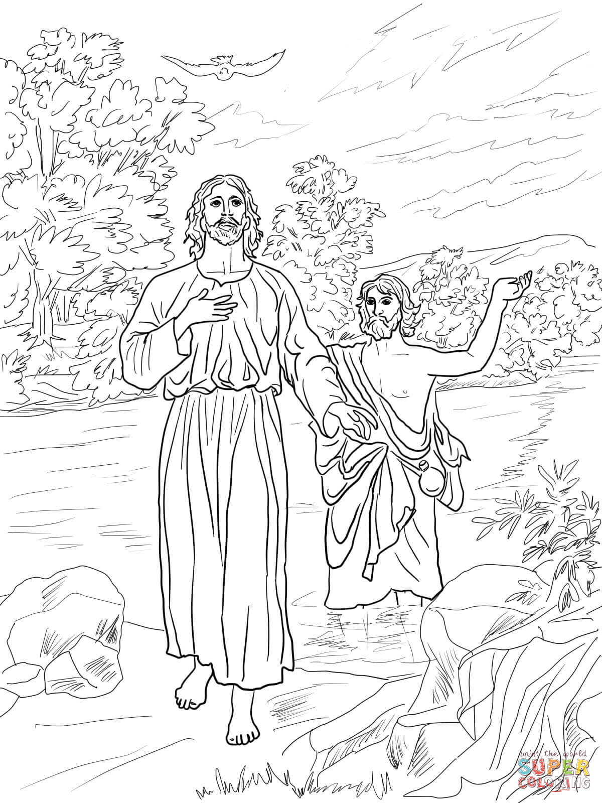 baptism of jesus coloring page 25 awesome photo of baptism coloring pages catholic page of jesus baptism coloring
