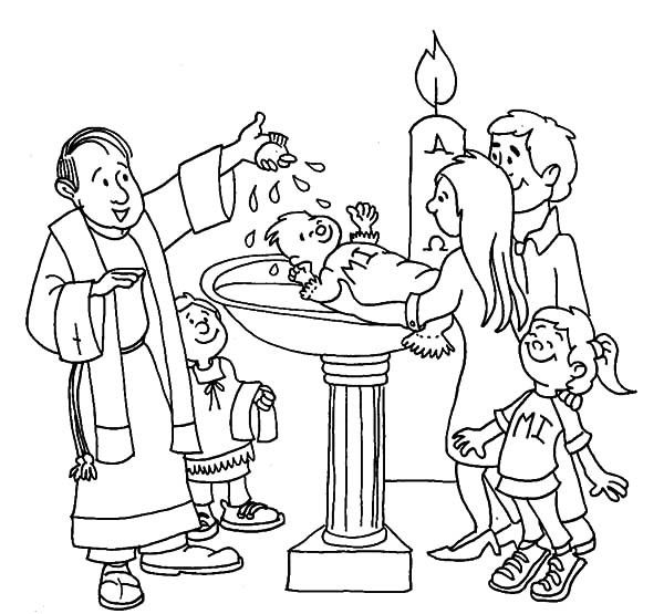 baptism of jesus coloring page jesus baptized by john the baptist coloring page free jesus baptism page of coloring