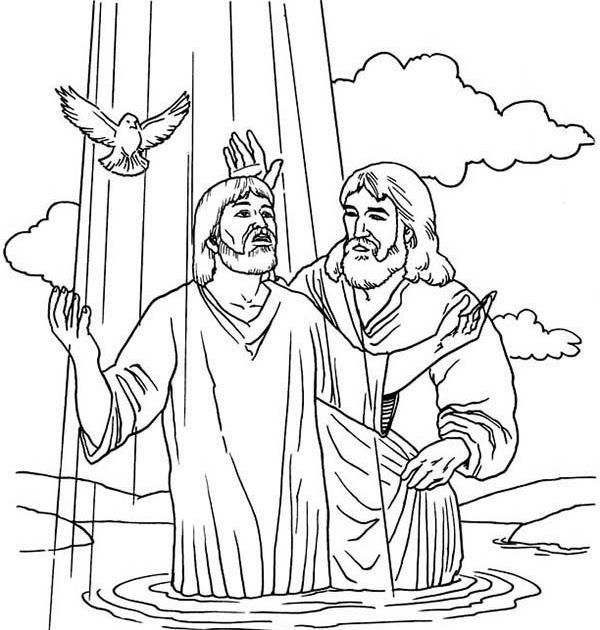 baptism of jesus coloring page new coloring pages jesus baptism free jesus coloring pages of baptism coloring jesus page