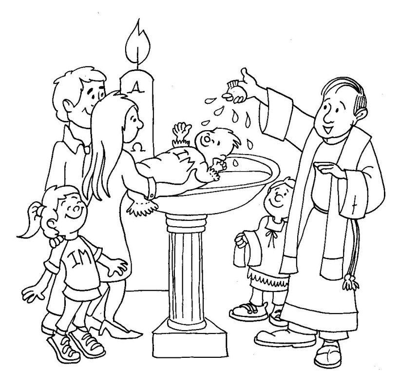 baptism of jesus coloring page sacrament of baptism coloring page thecatholickidcom of baptism jesus coloring page