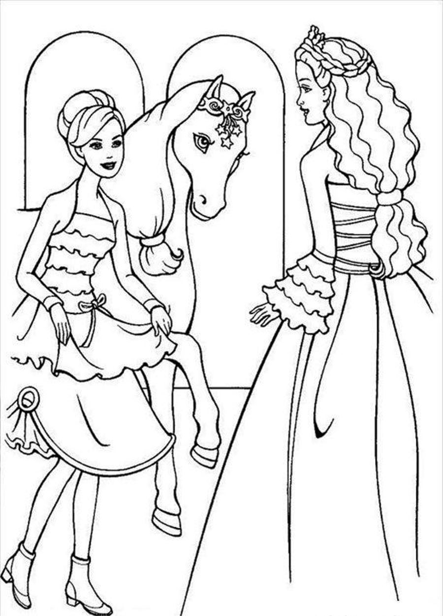 barbie color sheets 85 barbie coloring pages for girls barbie princess sheets barbie color