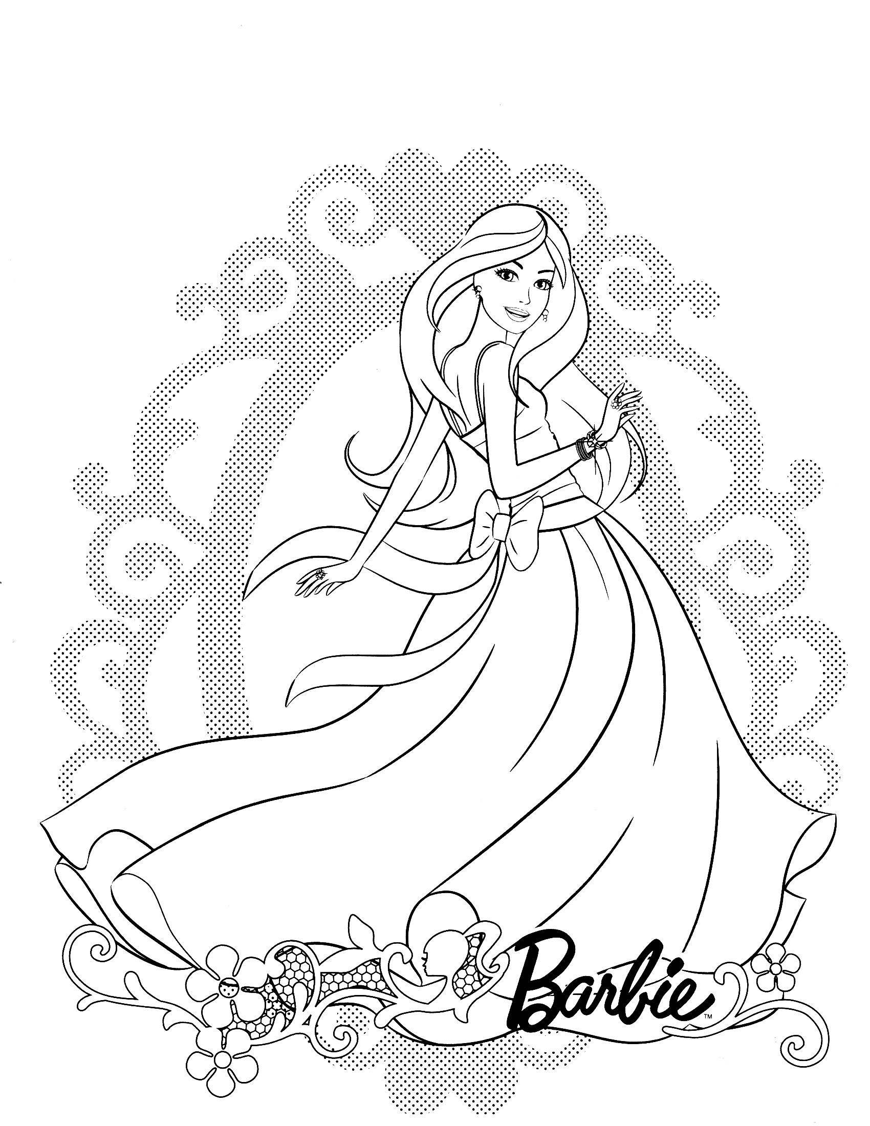 barbie dream house coloring pages barbie life in the dreamhouse coloring pages coloring pages pages house dream coloring barbie