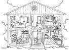 barbie dream house coloring pages cause barbie39s dream house is full coloring pages barbie dream coloring pages house