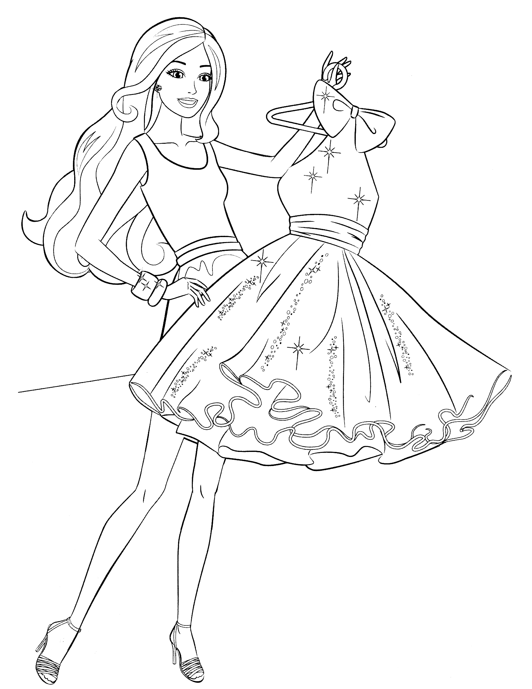 barbie dream house coloring pages dream house coloring pages at getcoloringscom free barbie pages house dream coloring