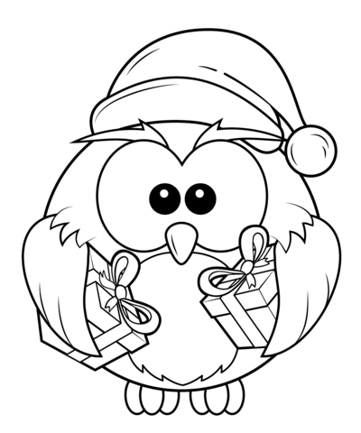 barn owl coloring pages printable christmas owl with gift boxes coloring page free printable owl pages coloring barn