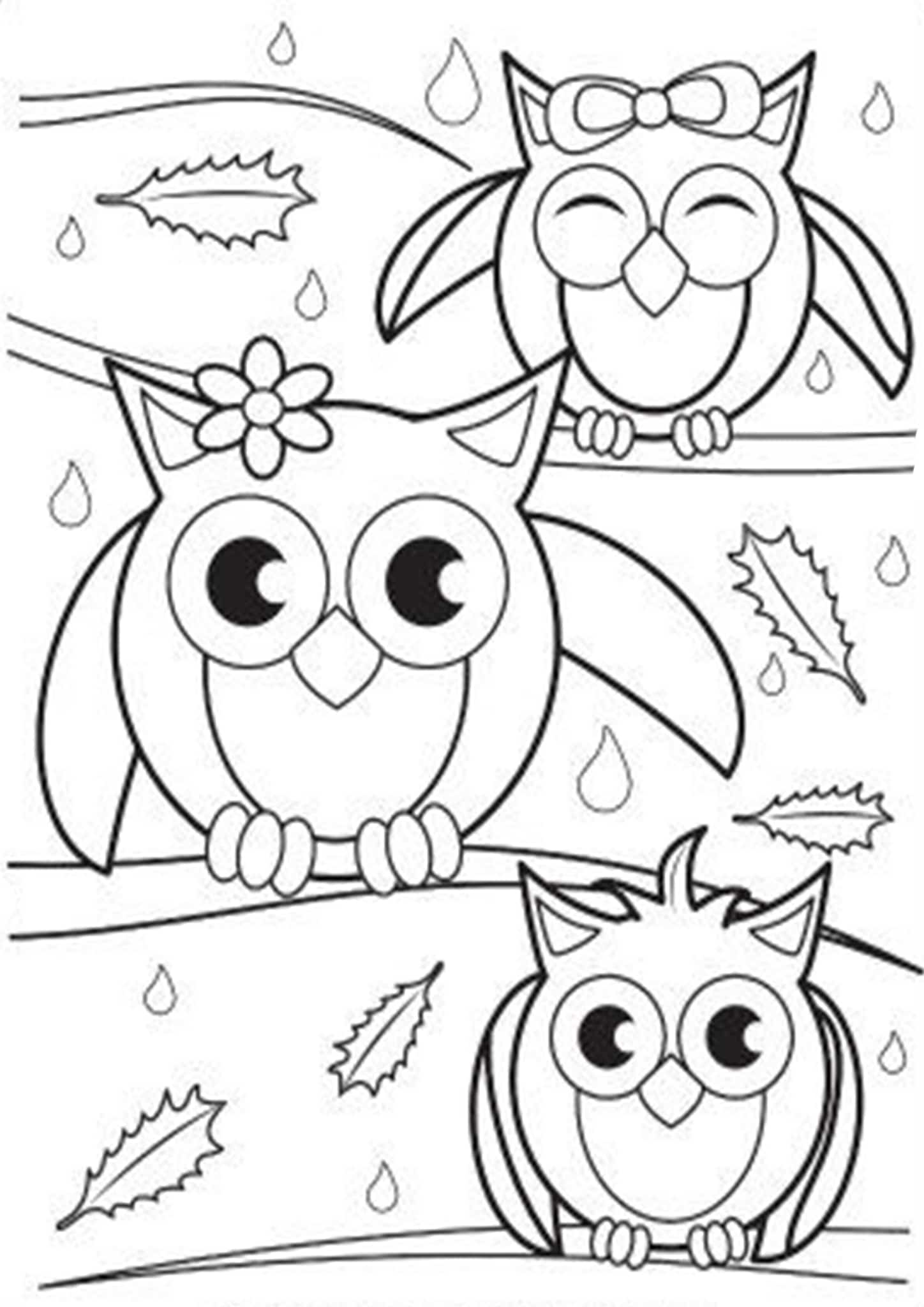 barn owl coloring pages printable free easy to print owl coloring pages tulamama barn coloring printable pages owl