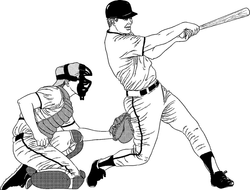 baseball coloring sheets sporty coloring pages to print baseball baseball coloring baseball sheets