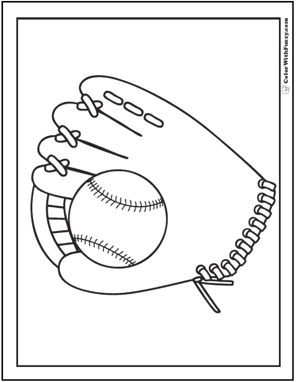 baseball glove coloring page baseball coloring pages customize and print pdfs baseball page coloring glove