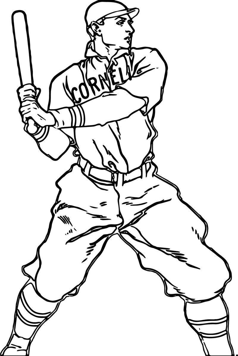 baseball player coloring pages baseball player man baseball coloring page also see the baseball pages player coloring