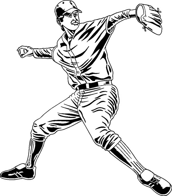 baseball player coloring pages coloring page of a baseball player coloring home baseball pages player coloring