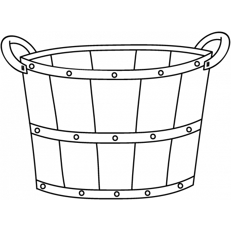 basket drawing bushel basket clipart etc basket drawing
