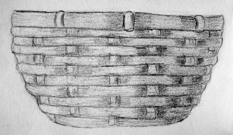 basket drawing clothes colouring pages kiddi kleurprentjes drawing basket