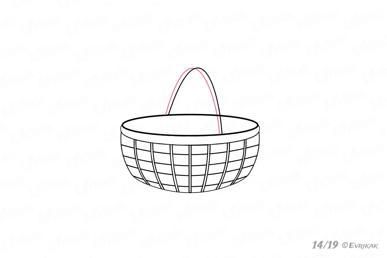 basket drawing how to draw a basket step by step basket drawing