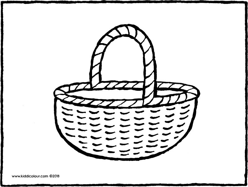 basket drawing how to draw a bread basket drawingforallnet basket drawing