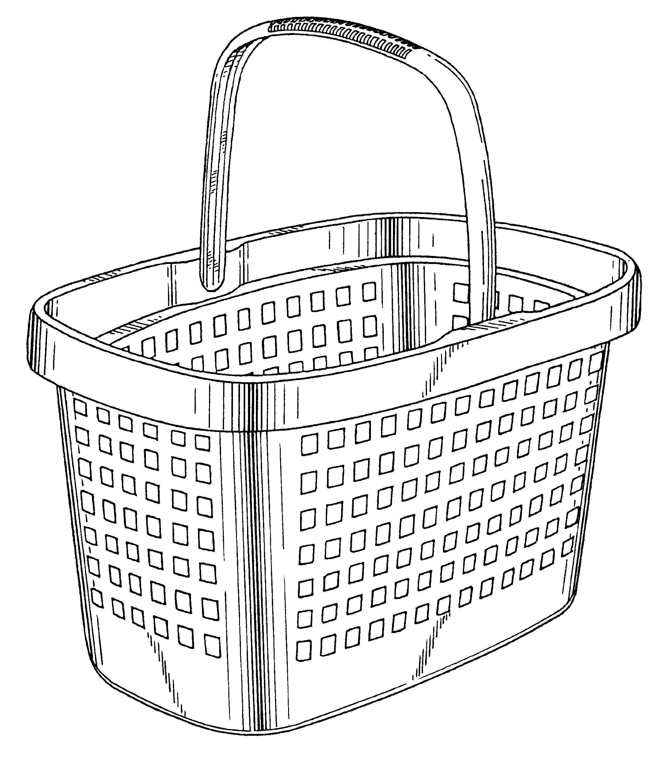basket drawing wicker basket drawing at getdrawings free download basket drawing