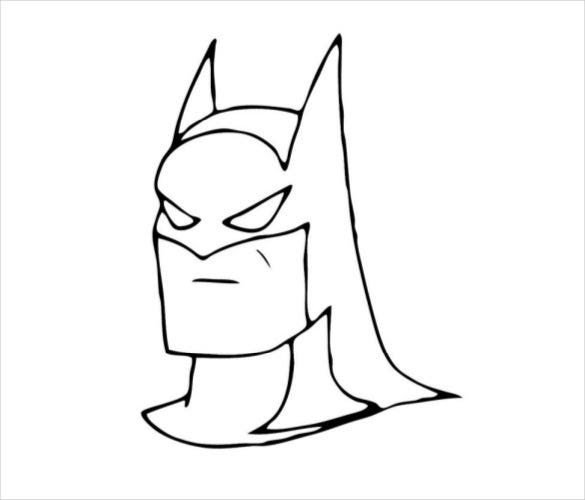 batman face coloring pages iron man face drawing at getdrawings free download coloring pages batman face