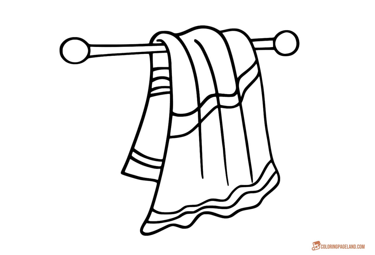 beach towel coloring sheet beach towel coloring pages getcoloringpagescom sheet beach coloring towel