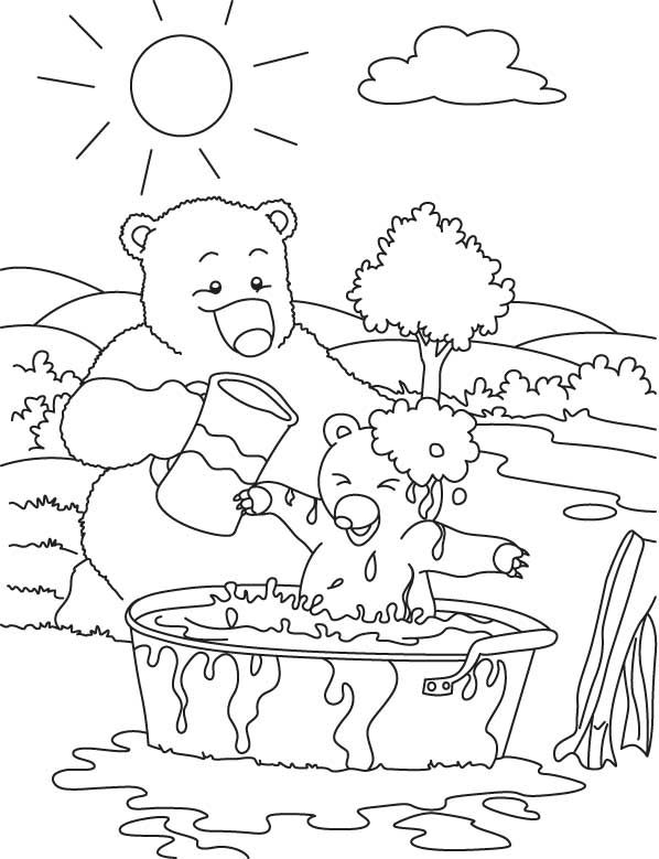 bear hunt colouring going on a bear hunt story strip bear crafts teddy bear colouring bear hunt