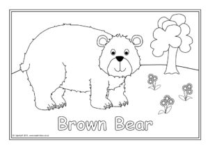 bear hunt colouring we39re going on a bear hunt coloring page twisty noodle hunt bear colouring