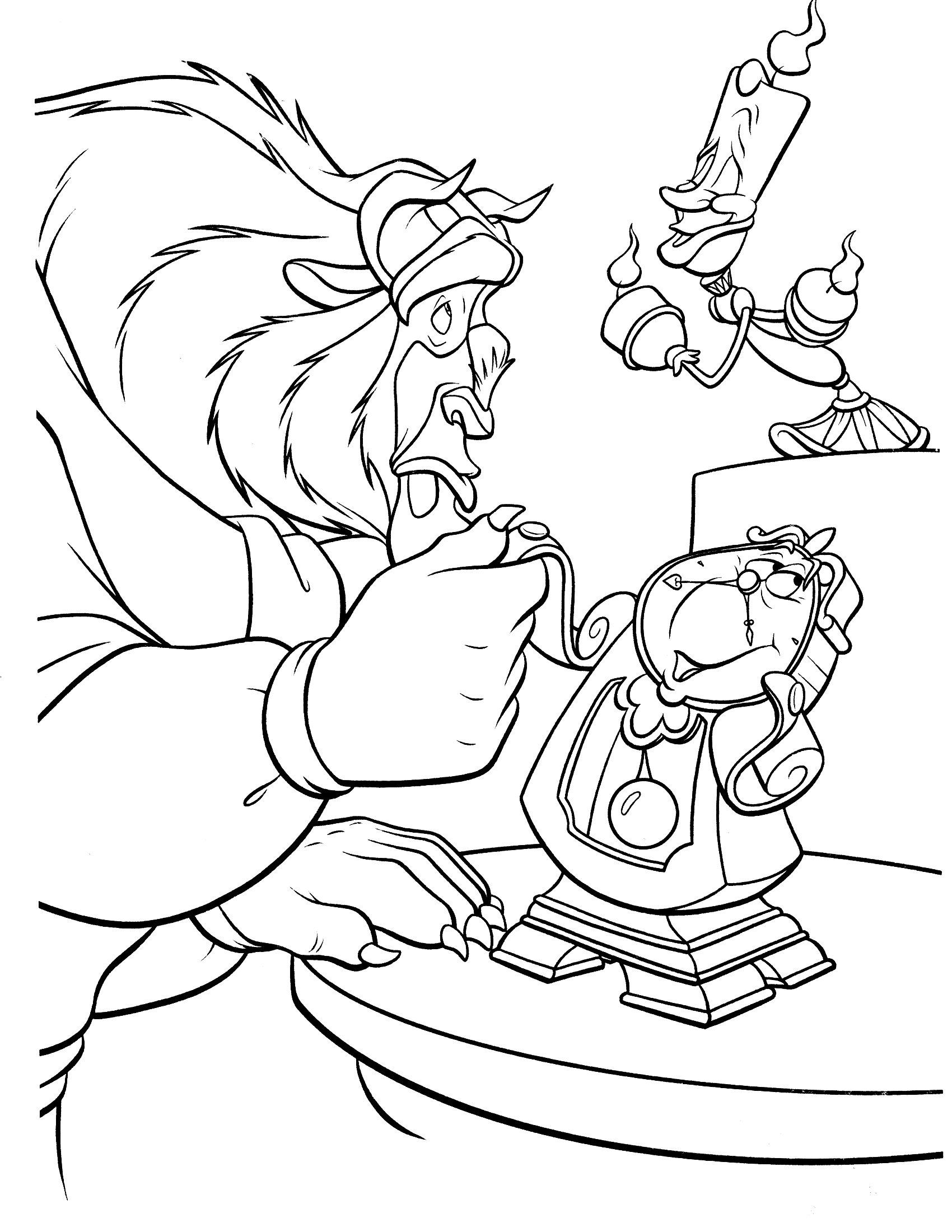 beauty and the beast colouring page beauty and the beast coloring pages beauty beast page and the colouring