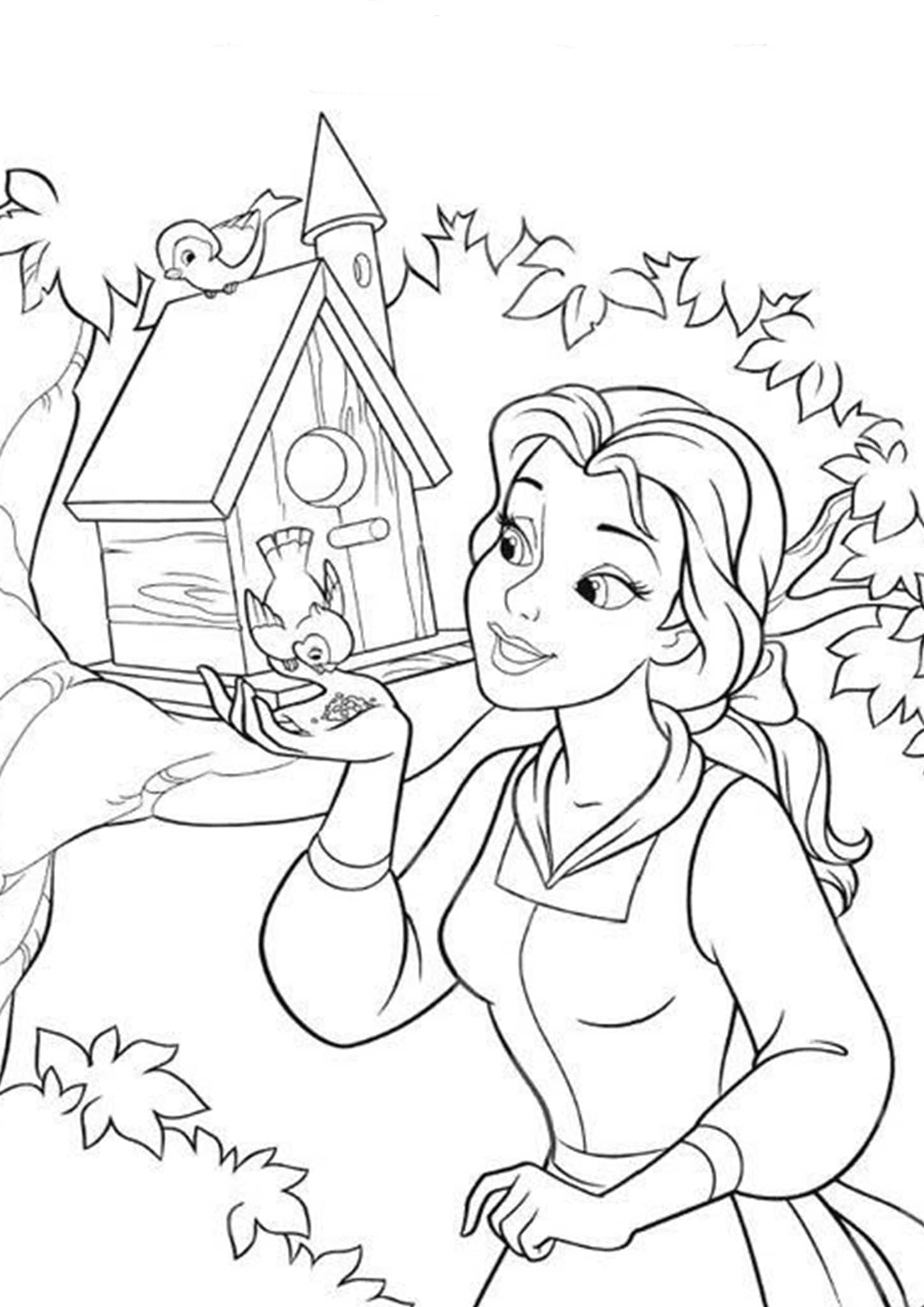 beauty and the beast colouring page beauty and the beast coloring pages beauty page colouring the and beast