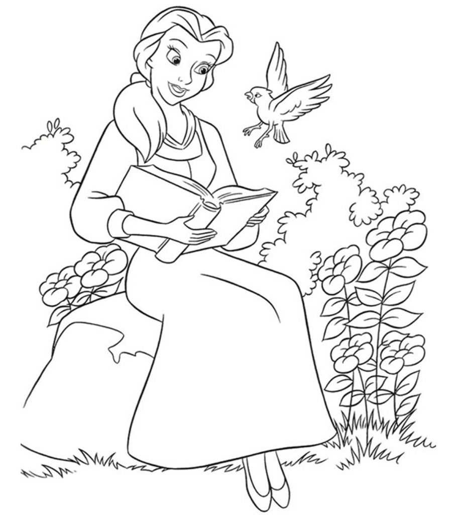 beauty and the beast colouring page craftoholic beauty the beast coloring pages page colouring beauty beast the and