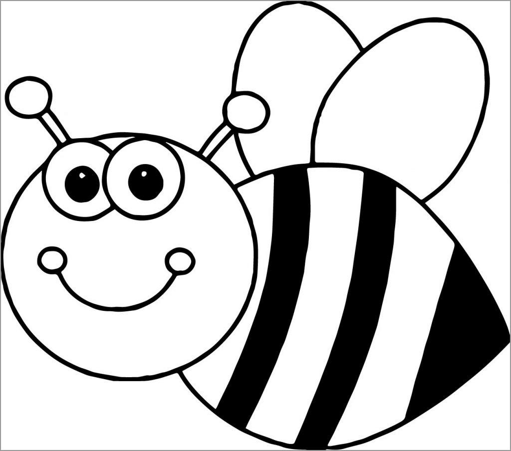 bees colouring pages bee coloring pages coloringbay pages bees colouring