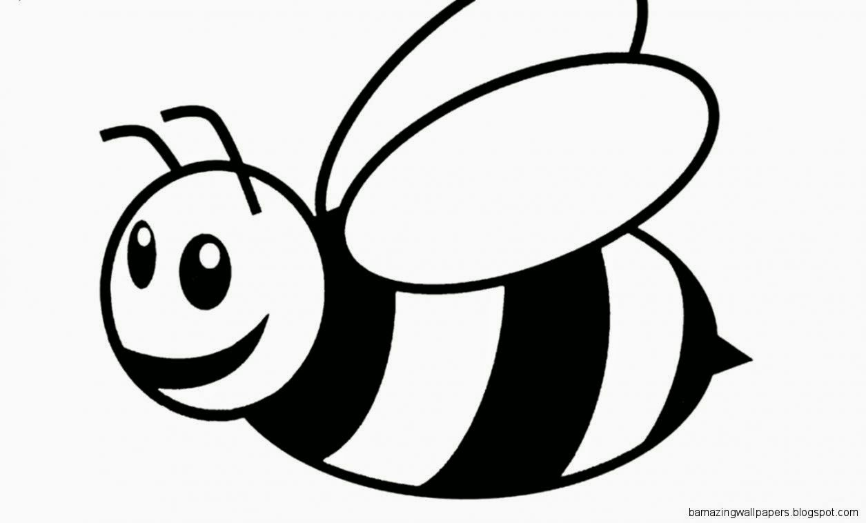 bees colouring pages bumble bee coloring page at getcoloringscom free pages colouring bees
