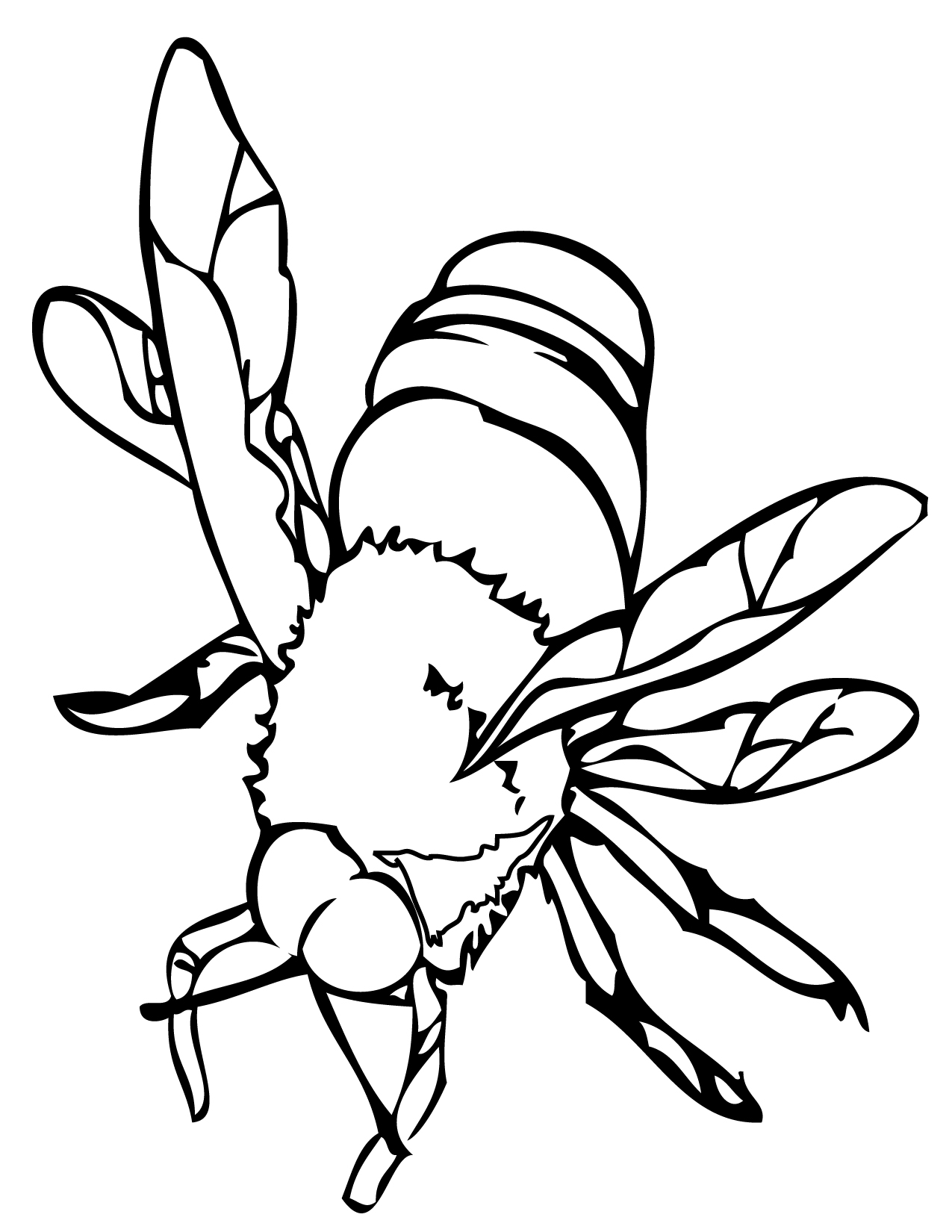 bees colouring pages free printable bee coloring pages for kids colouring pages bees